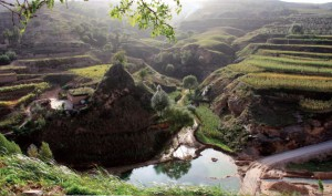 After Loess Plateau Watershed Rehabiliation Project, China