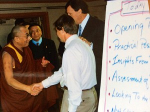 David Cooperrider discusses the concept of 'mirror flourishing' with His Holiness the Dalai Lama - they explore the power of Appreciative Inquiry and why good things happen to good companies.