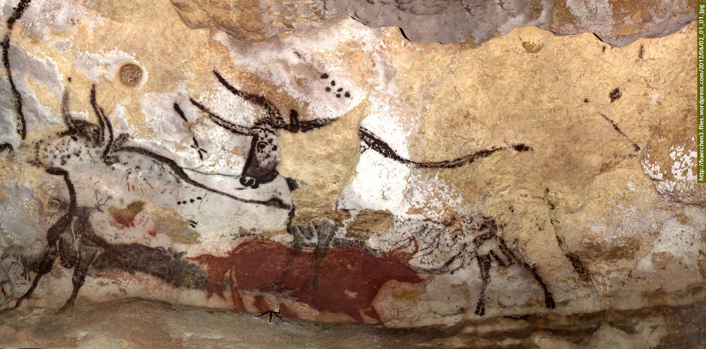 Hall of Bulls | Lascaux Cave, France