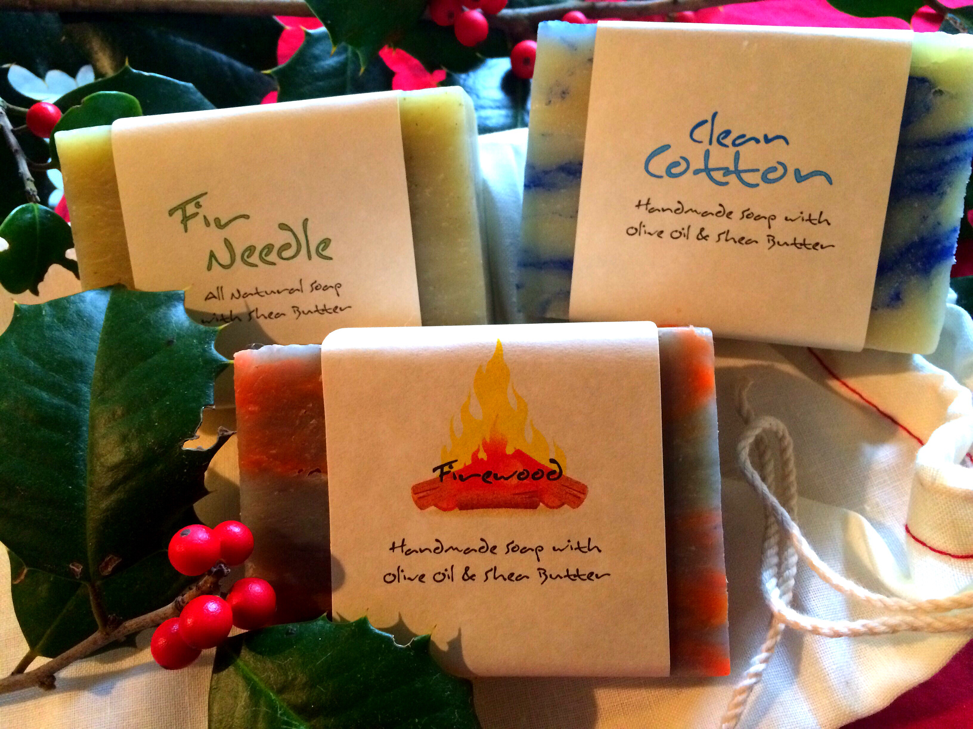 Kosmos Handmade Natural Soaps for the Festive Season