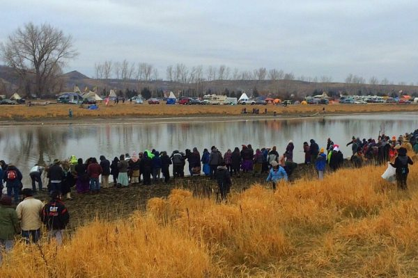 Standing Rock   We Go As a River