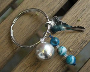 Our Kosmos Harmony Keyring, free for new Subscribers until 7/10