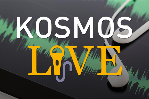 KOSMOS LIVE Podcast | Alnoor Ladha, Mystical Anarchism in a Post-Capitalist World