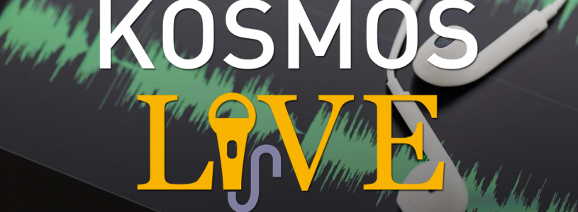 KOSMOS LIVE Podcast |Alnoor Ladha, Mystical Anarchism in a Post-Capitalist World