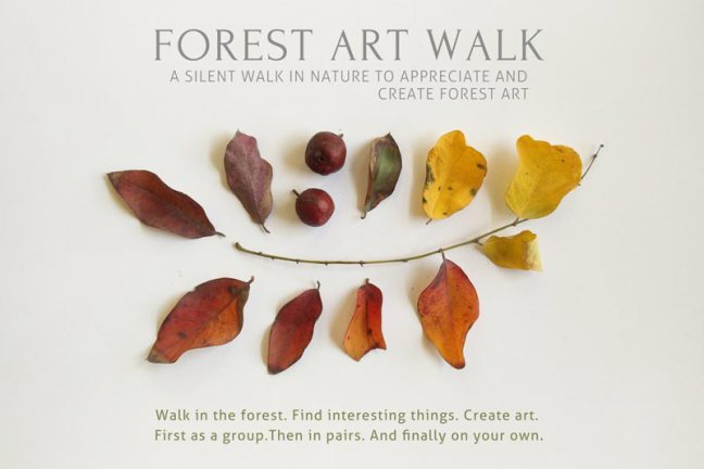 Forest Art Walk | A Practice for International Day of Forests, March 21