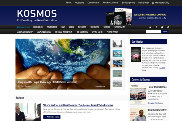 Kosmos Launches New Website