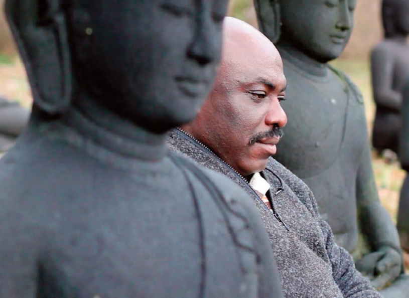 Christian Bethelson at Plum Village, France, a Buddhist Monastery founded by Thich Nhat Hanh February 2014