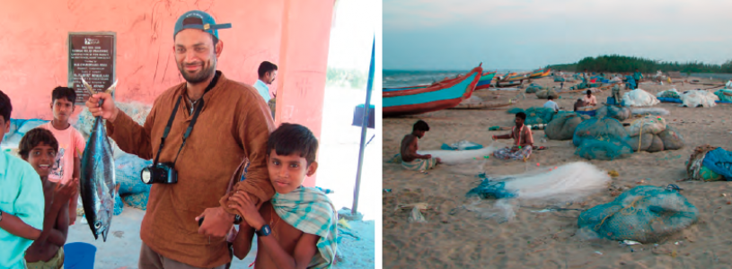 Fishing, community and Sudarshan; Fisherman—what's in the net?