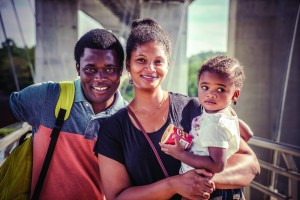 Bayo, Ej, and Alethea Akomolafe. photography | James River Richmond