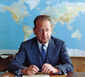 Dag Hammarskjöld |  photography | United Nations DPI
