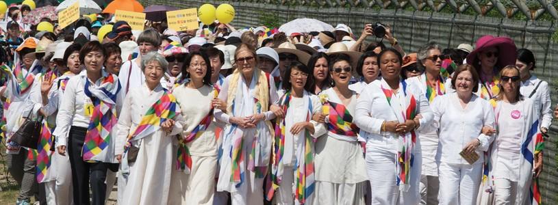Women Cross DMZ to Make Peace in Korean Peninsula