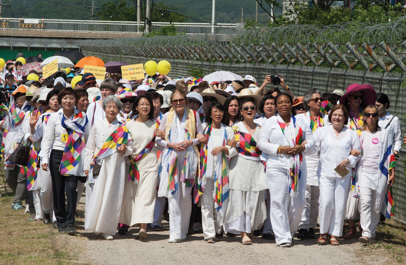 Women Cross DMZ to Make Peace in Korean Peninsula