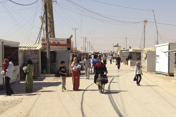 Lessons of DIY Urbanism in a Syrian Refugee Camp