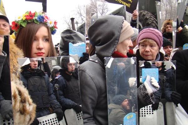 Icons on the Barricades: Ukrainian Protest Art