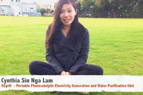 New Generation: Teen invents solar water purification that generates electricity
