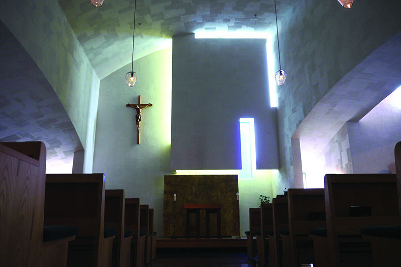St. Ignatius Chapel, Seattle, Washington. photography | Pauline Metcalfe