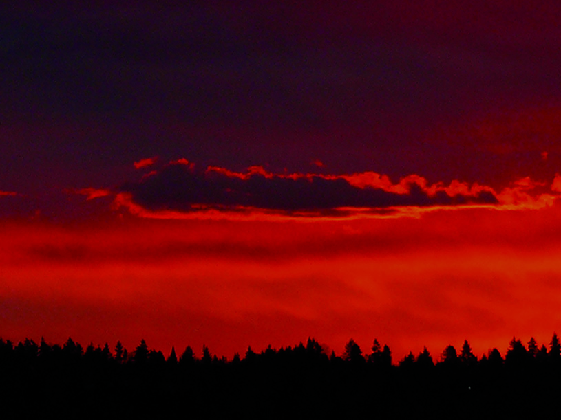 Red Sky. photography | Dianne Grob